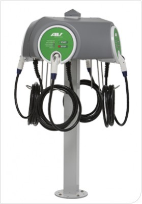 Multi Unit EV Charging Station